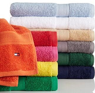 "$2.39-$4.99 Tommy Hilfiger ""All American"" Bath Towel Collection"