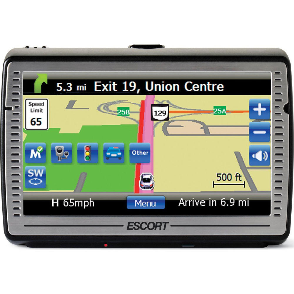 "$279 Escort Passport iQ 5"" Widescreen Portable GPS Navigator w/ Radar/Laser Detector"