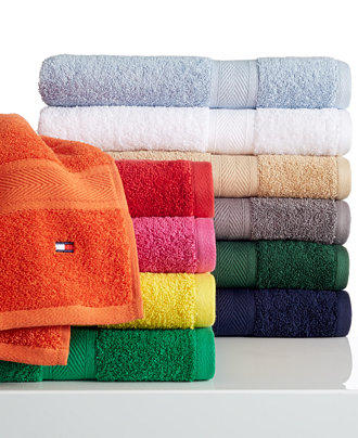 "$4.99 Tommy Hilfiger ""All American"" Bath Towel Collection"