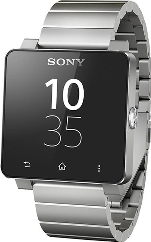 Pre-Owned Sony SmartWatch 2 Bluetooth Stainless Steel Android Watch