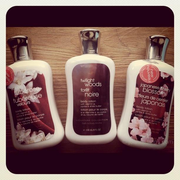 Select Signature Collection Body Lotion @ Bath & Body Works