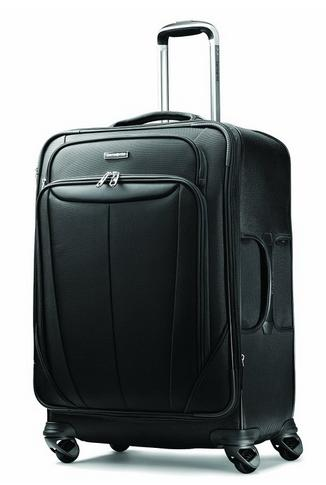 $105.86 Samsonite Luggage Silhouette Sphere Expandable 25 Inch Spinner