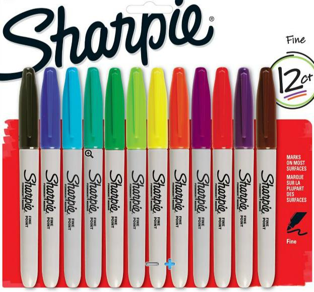 25% Off Sharpie Markers & Highlighters @ Staples