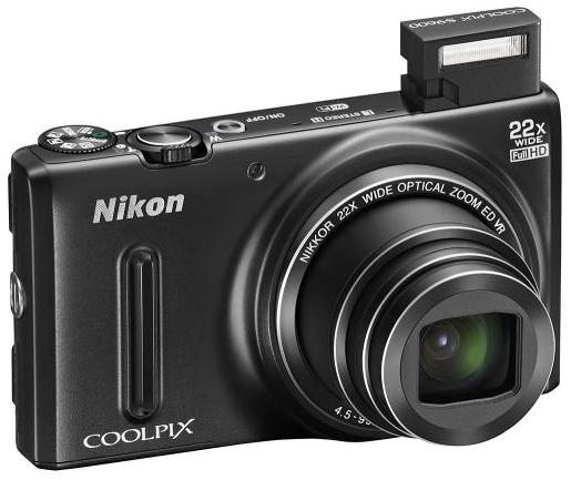 $79.99 Refurbished Nikon Coolpix S9600 16-Megapixel Wi-Fi Digital Camera 26450