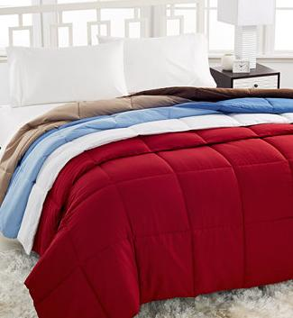 $24.99 Home Design Down Alternative Comforter