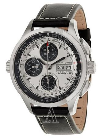 Hamilton Men's Khaki Aviation X-Patrol Auto Chrono Watch H76566751 (Dealmoon exclusive)