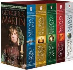 $10.2 George R. R. Martin's A Game of Thrones 5-Book Boxed Set (Song of Ice and Fire series)