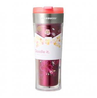 Starbucks Doodle It Stainless Steel Tumbler