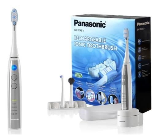$50.99 Panasonic Rechargeable Ionic Sonic Speed Toothbrush