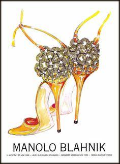 Up to $500 GIFT CARD with Manolo Blahnik Shoes Purchase of $200 or More @ Neiman Marcus