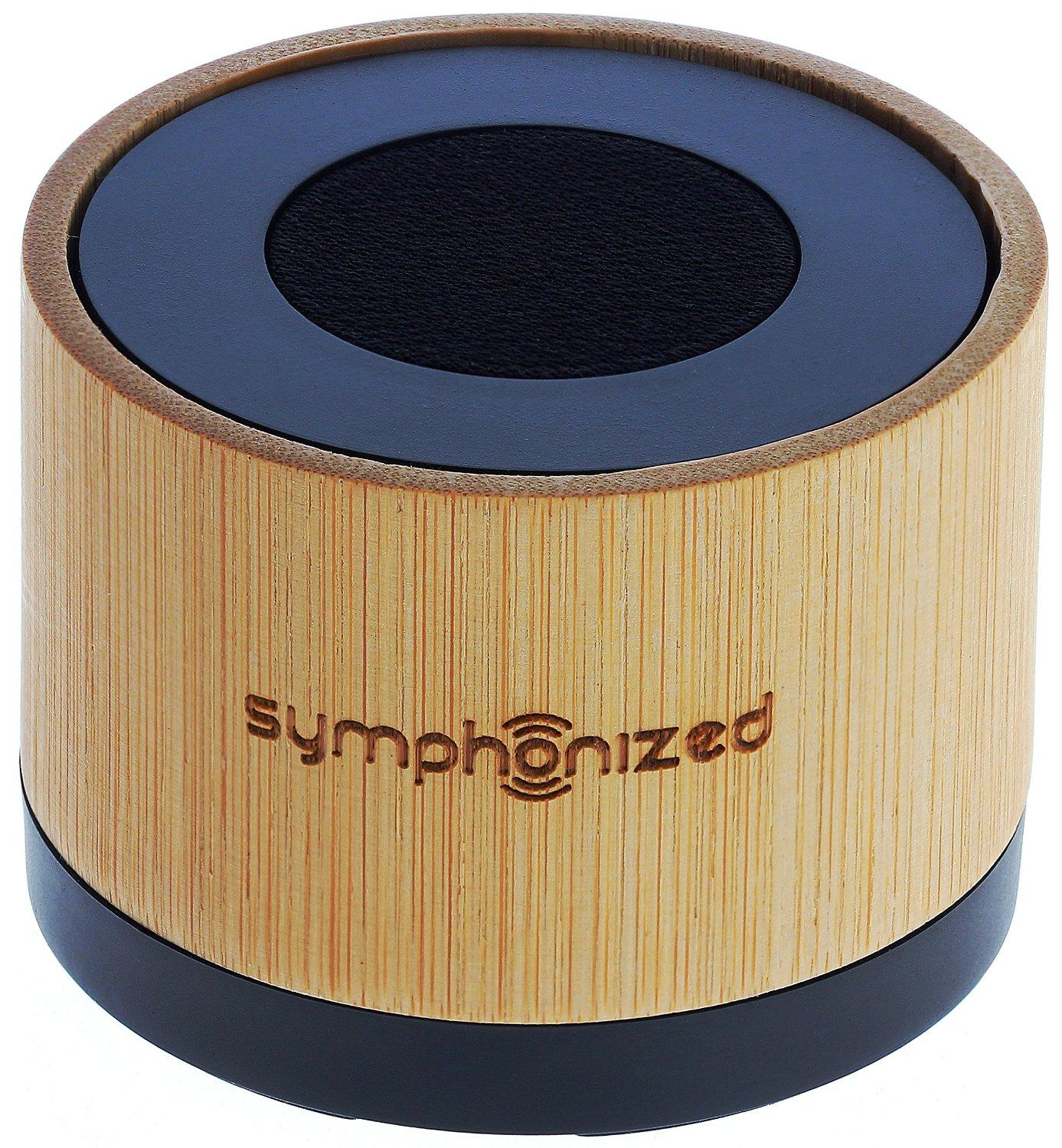 $26 Symphonized NXT Premium Genuine Wood Bluetooth Portable Speaker