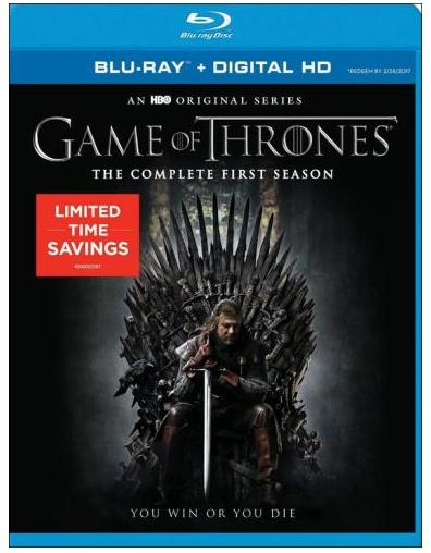 $19.99 Game of Thrones: The Complete First Season (Blu-ray Disc) (Boxed Set)