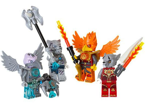 From $2.98LEGO Chima & Friends Minifigure Accessory Set