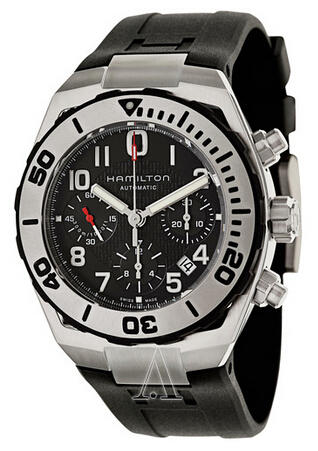Hamilton Khaki Navy Sub Auto Chrono Men's Watch H78716333 (Dealmoon Exclusive)