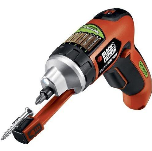 $11.99 Black + Decker 3.6V Lithium Screwdriver with SmartSelect™ Technology LI4000R (Manufacturer refurbished)