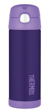 Thermos Funtainer Bottle, 16-Ounce, Purple