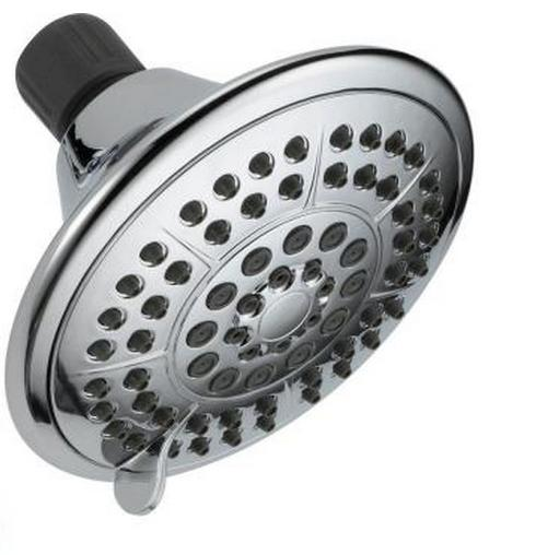 "Delta 5"" 5-Spray Setting Showerhead w/ Pause"