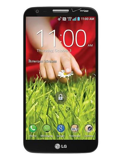 $199.99 LG - G2 4G LTE with 32GB Memory Cell Phone - Black (Verizon Wireless)