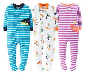 60% Off  off 1 Piece and 3 Piece PJs @ Carter's