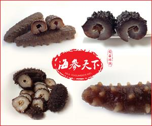 From $135 More Dried Light and Frozen Sea Cucumber Sale @ Haishentianxia