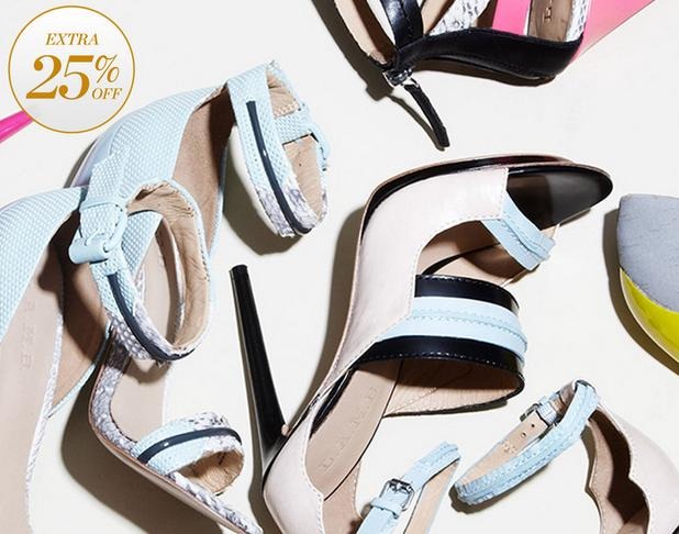 Up to 63% Off+Extra 25% Off Spring's Most Massive Shoe Stock-Up @ Gilt