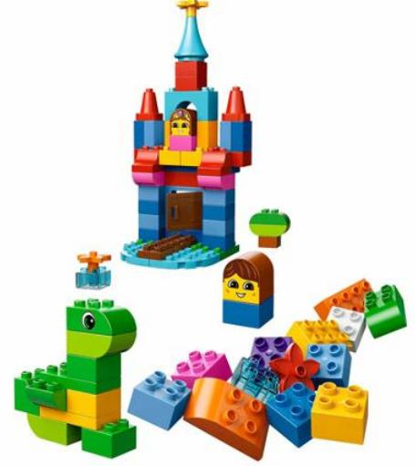 $38 LEGO DUPLO Giant Tower 200 pieces with storage box 10557
