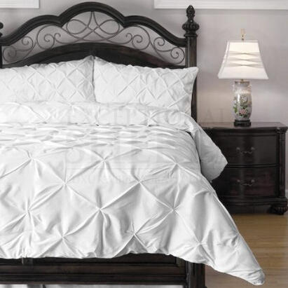 $68.99 Emerson 4-Piece Pinch Pleat Puckering Comforter Mini Set