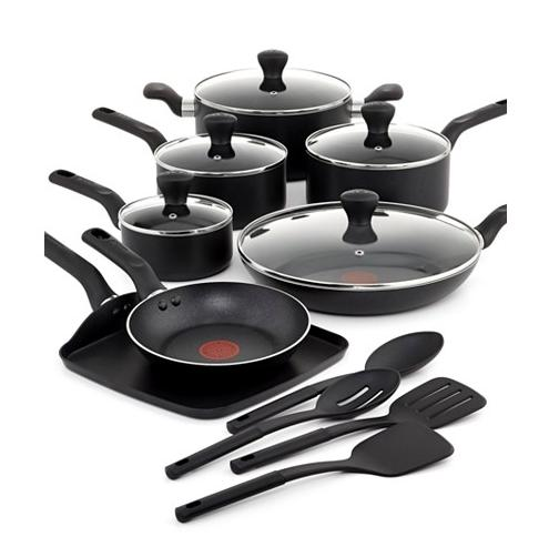 $84.99 T-Fal Culinaire 16 Piece Cookware Set