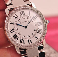 $2269 Cartier Rondo Solo Large Watch W6701005