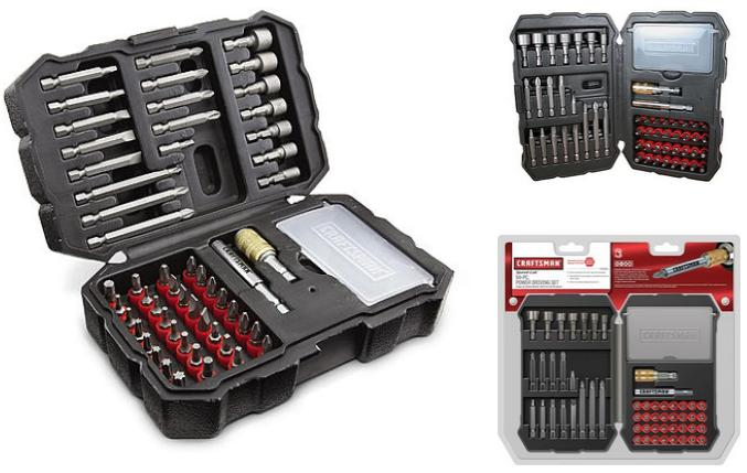 $12.49 Craftsman 54-Piece Driving Set 26393
