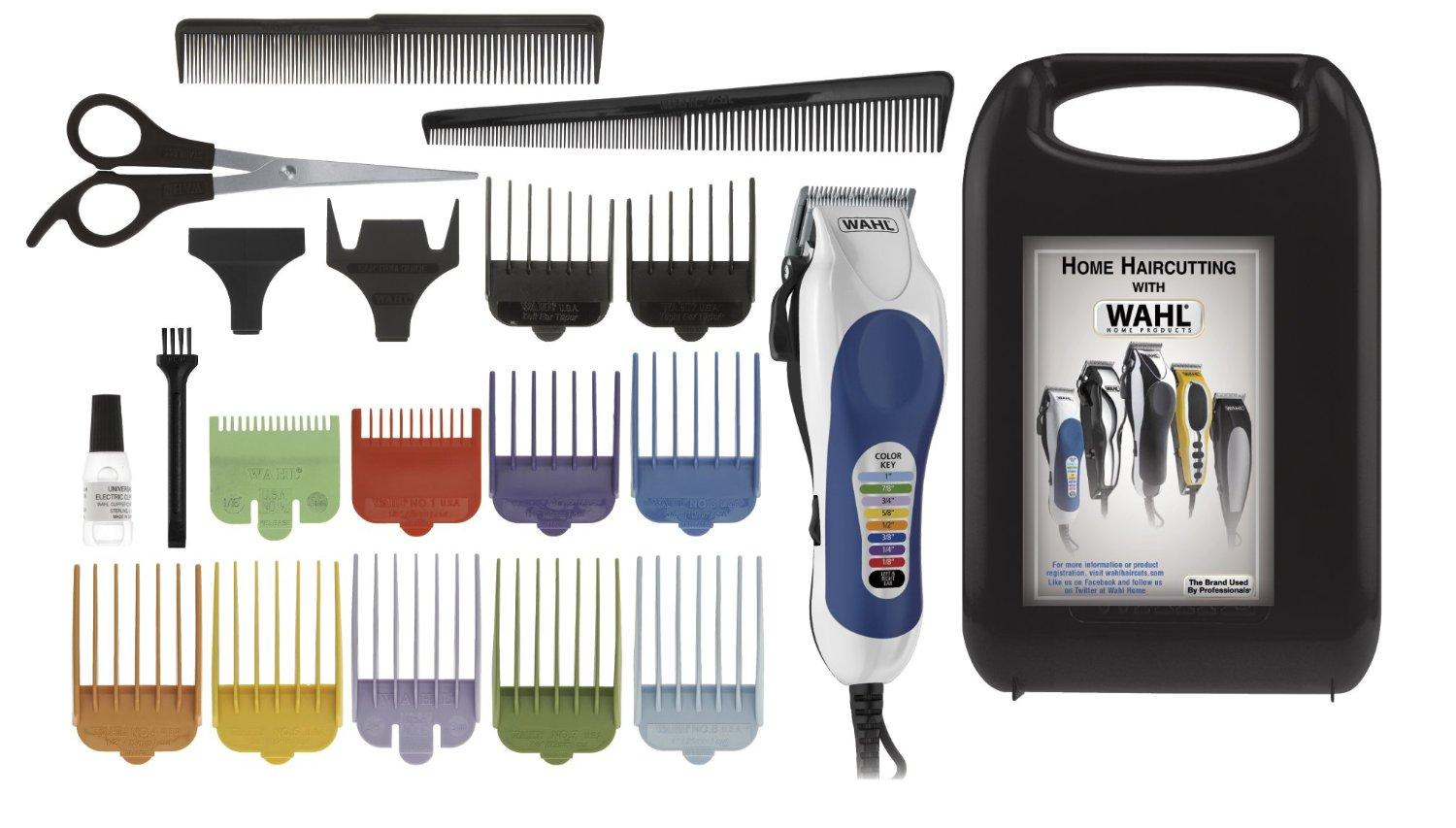 $17.31 Wahl 79300-400 Color Pro 20 Piece Complete Haircutting Kit
