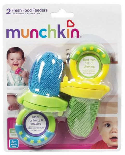 $6.95 Munchkin Fresh Food Feeder, Colors May Vary, 2 Count