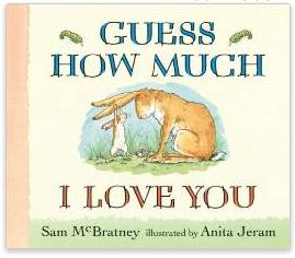 $4.33 Guess How Much I Love You Board book