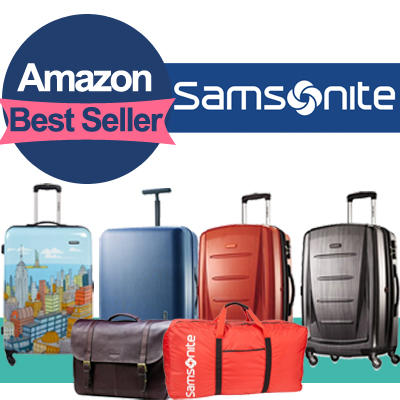 Time to Travel Most Popular Samsonite Traveling Luggage and Bags @ Amazon