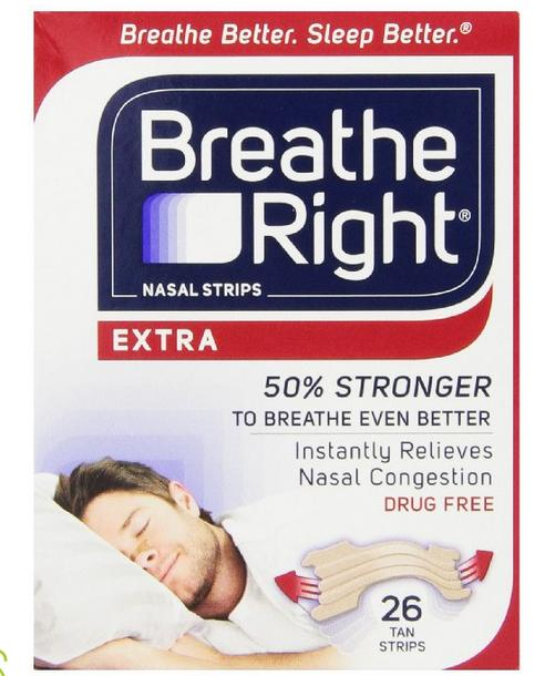 $10.41 Breathe Right Nasal Strips, Extra, 26-Count Box