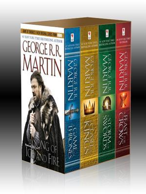 $0.99 George R. R. Martin's A Game of Thrones 4-Book Bundle