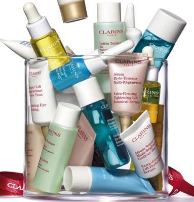 5 Free Samples with any order @ Clarins