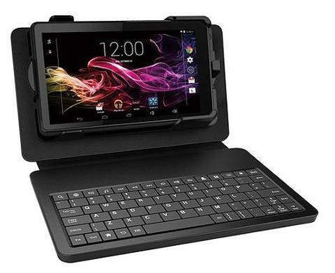 "$44.99 RCA 7"" 8GB Tablet Quad Core with Keyboard/Case RCT6773W22KB"