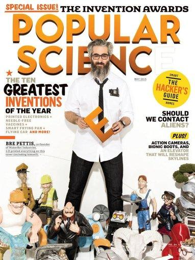 $4.99 Popular Science Magazine 1 Year Subscription