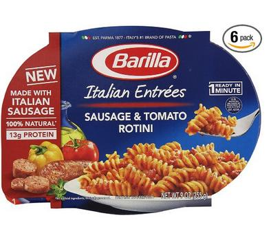 Extra 20% Off Select Barilla Products @Amazon.com