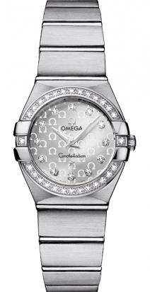 Omega Constellation Ladies' Quartz Watch 123.15.24.60.52.001