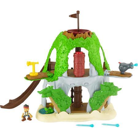 $8.99 Fisher-Price Jake and the Never Land Pirates Jake's Magical Tiki Hideout Play Set