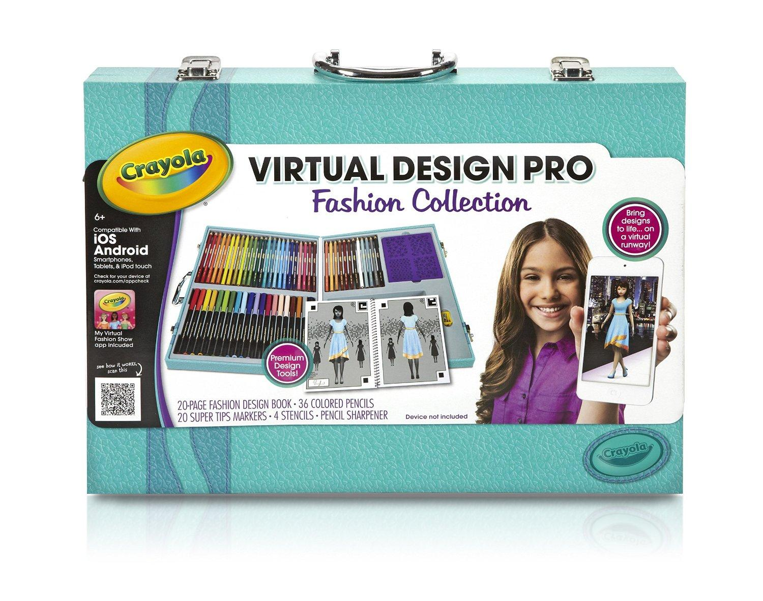 $9.99 Crayola Virtual Design Pro-Fashion Set