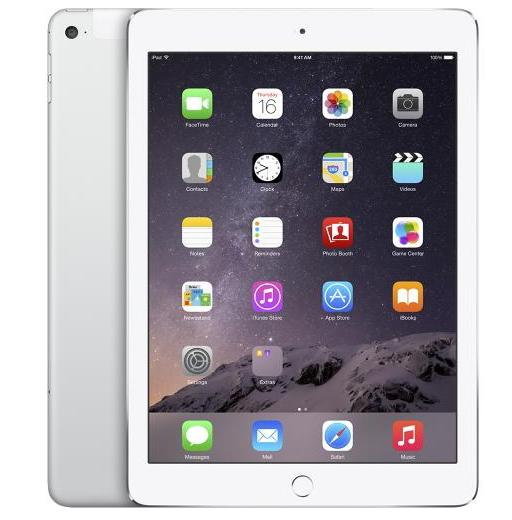 Apple iPad Air 2 Wi-Fi+Cellular 128GB - Silver (MH322LL/A)