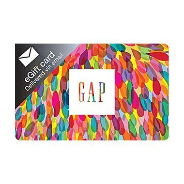 $85 GAP Gift Cards (Email Delivery)