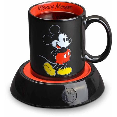 $9.99 Disney Mug Warmer, Black/Red
