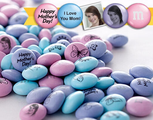 $15 $30 Personalized M&M'S from MyMMs.com