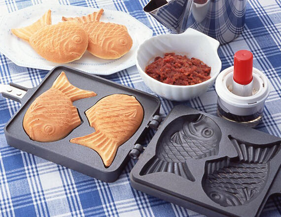 $31.99 Taiyaki Japanese Fish-Shaped Hot Cake Maker