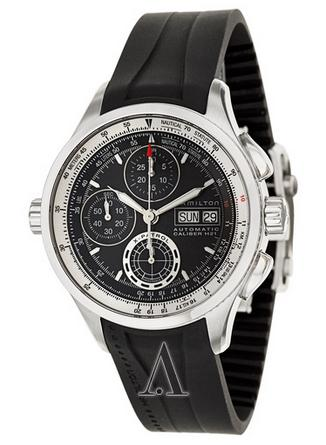 Hamilton Men's Khaki Aviation X-Patrol Auto Chrono Watch H76556331 (Dealmoon Exclusive)