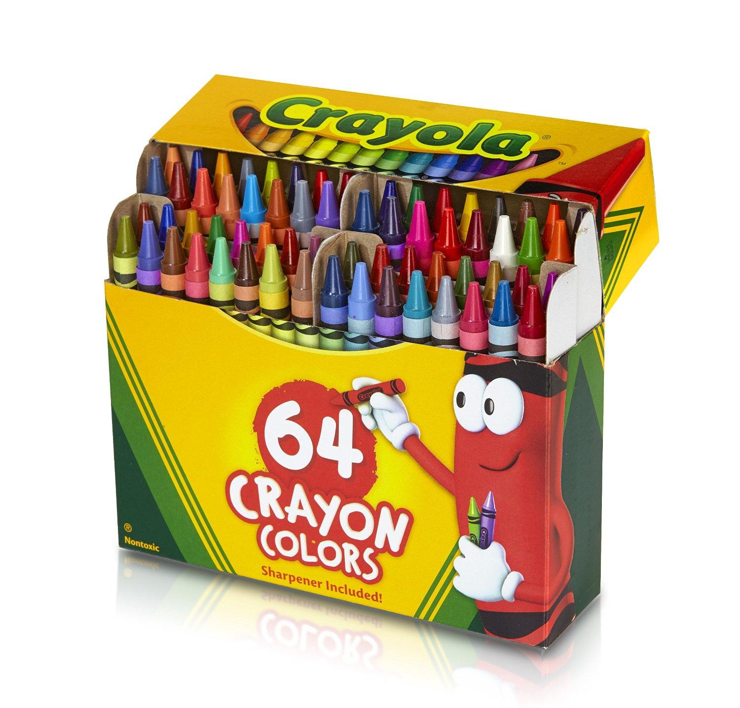 #1 Best Seller! $2.99 Crayola 64 Ct Crayons (52-0064)